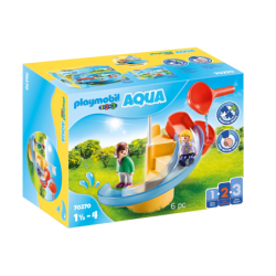 Playmobil 70270 1.2.3 Tobogán Acuático Playmobil 1.2.3