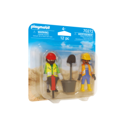 Playmobil 70272 Obreros Duo Pack
