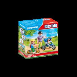 Playmobil 70284 Mamá con Niños City Life