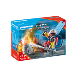 Playmobil 70291 Set Bomberos City Action