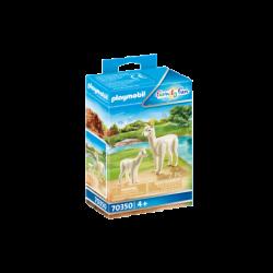 Playmobil 70350 Alpaca con Bebé Family Fun