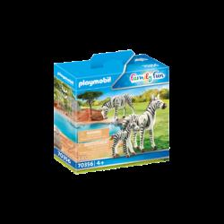 Playmobil 70356 Cebras con Bebé Family Fun