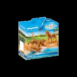 Playmobil 70359 Tigres con Bebé Family Fun