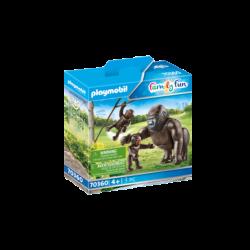 Playmobil 70360 Gorila con Bebés Family Fun