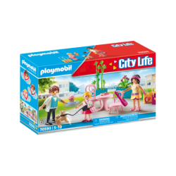 Playmobil 70593 Cafetería City Life