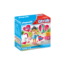 Playmobil 70596 Chica Fashion City Life