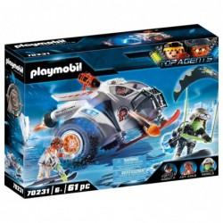 Playmobil 70231 Spy Team Planeador de Nieve Top Agents
