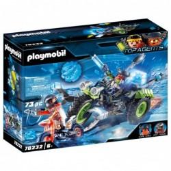 Playmobil 70232 Arctic Rebels Triciclo de Hielo Top Agents