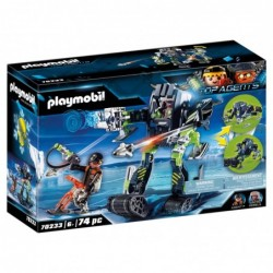 Playmobil 70233 Arctic Rebels Robot de Hielo Top Agents