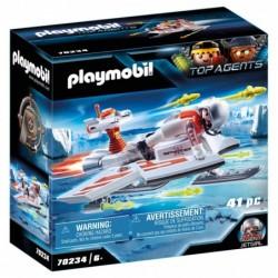 Playmobil 70234 Spy Team Volador Top Agents