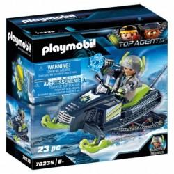 Playmobil 70235 Arctic Rebels Moto Hielo Top Agents