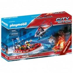 Playmobil 70335 Misión Rescate City Action