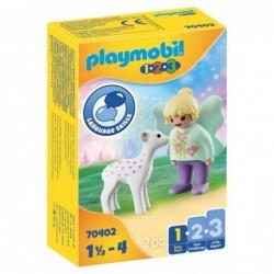 Playmobil 70402 1.2.3 Hada con Cervatillo Playmobil 1.2.3
