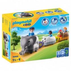 Playmobil 70405 1.2.3 Mi Tren de Animales Playmobil 1.2.3