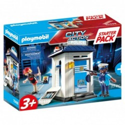 Playmobil 70498 Starter Pack Policía City Action