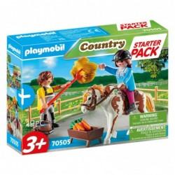 Playmobil 70505 Starter Pack Granja de Caballos set adicional Country