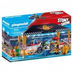 Playmobil 70552 Stuntshow Tienda taller moto