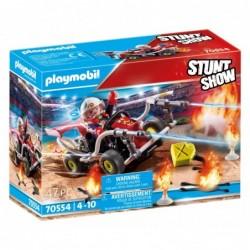 Playmobil 70554 Stuntshow Kart Bombero Stuntshow