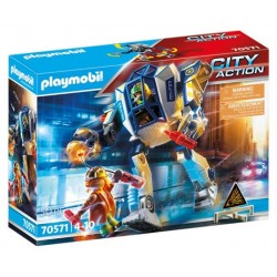 Playmobil 70571 Robot Policía: operación Especial City Action