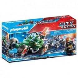 Playmobil 70577 Kart Policial: persecución ladrón de caja fuerte City Action