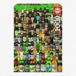 Puzzle 1000 Cervezas Educa...