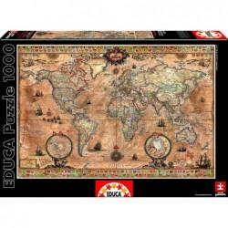 Puzzle 1000 Mapamundi Educa...