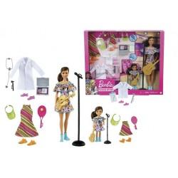 Muñeca Barbie y Chelsea profesiones con accesorios Mattel GNC63