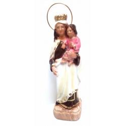 Figura Virgen del Carmen 20cm escayola
