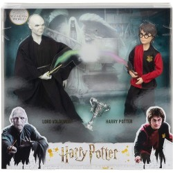 Harry Potter muñecos Lord Voldemort y Harry Potter Mattel Recrea el épico duelo entre Harry Potter y Lord Voldemort