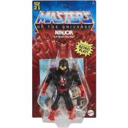 Muñeco Ninjor Masters of the Universe Mattel GVW66 15cm Incluye Comic