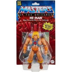 Muñeco He-Man Masters of the Universe Mattel GNN85 15cm Incluye Comic