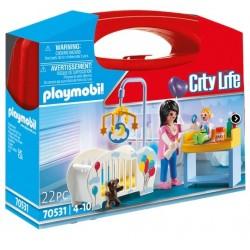 Playmobil 70531 Maletín habitación bebé