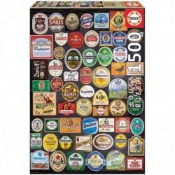 Puzzle 1500 Etiquetas De...