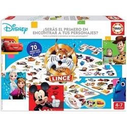 Juego Lince Edición Disney 70 imágenes de personajes Disney Edad 4-7 años