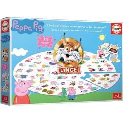 Juego Lince Edición Peppa Pig 70 imágenes de personajes Edad +3 años