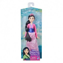 Muñeca Princesa Disney Mulán Brillo real 30cm