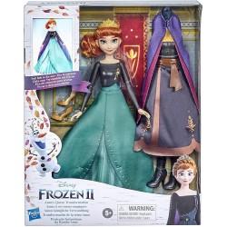 Muñeca transformación de la reina Anna Frozen II Hasbro edad +5 años