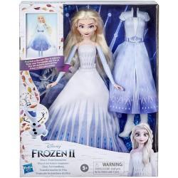 Muñeca transformación de Elsa Frozen II Hasbro edad +5 años