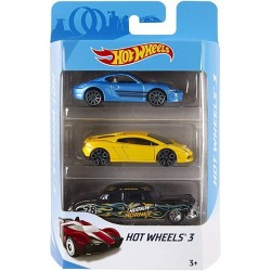 Hot Wheels Pack de 3 coches modelos surtidos