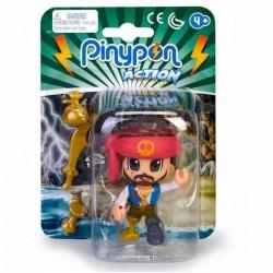 Pinypon action Pirata pañuelo rojo con accesorios