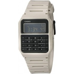 Reloj casio calculadora CA-53WF-8B blanco