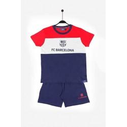 Fútbol Club Barcelona pijama niño verano