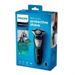 Máquina afeitar Philips S5420/06 AquaTouch uso en húmedo y seco, 45 min de uso/1 h carga