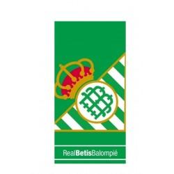 Real Betis Balompié Toalla de Playa 250gr poliéster 70 x 140cm
