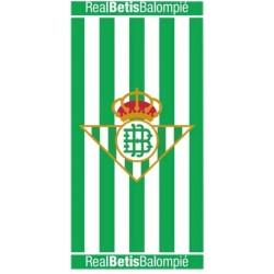 Real Betis Balompié Toalla de Playa 75x150cm Algodón rizo americano