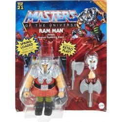 Masters of the Universe Figura Ram Man Deluxe muñeco articulado con accesorios Mattel GVL78