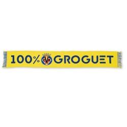 Bufanda Villarreal Club de Fútbol 100% Groguet
