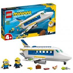 Lego Minions 75547 Minion Piloto en Prácticas. ¡Travesuras de altos vuelos para fans de los Minions!