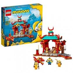 Lego Minions 75550 Duelo de Kung-fu de los Minions. ¡Juegos de interpretación basados en el kung-fu !