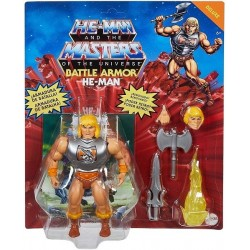 Masters of the Universe Figura He-Man deluxe muñeco articulado Mattel GVL76 piezas intercambiables
